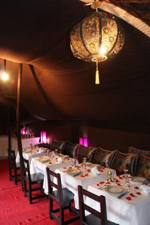 Coco Canel : Restaurant sous la tente BERBER
