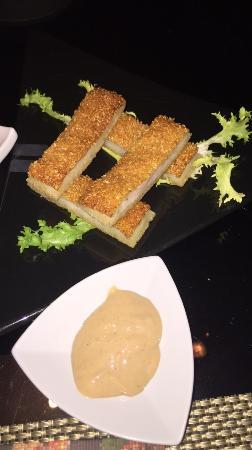 Toki : Sesame prawns