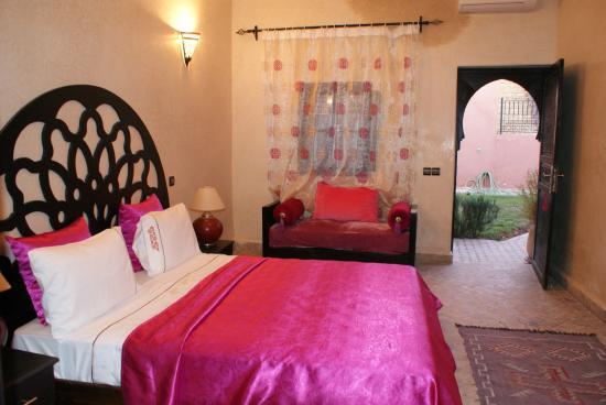 Coco Canel : chambre prune