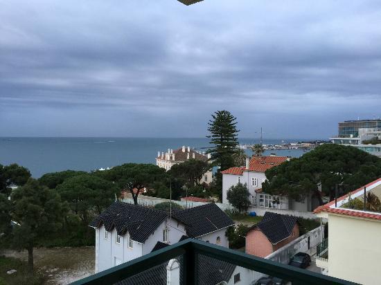 Saboia Estoril Hotel : Sea view from 5th floor