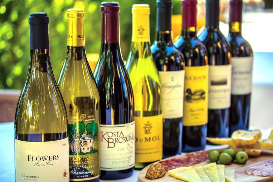 Amber Bistro : Just a few of our excellent wines