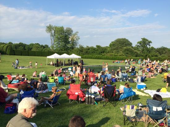 Ladew Topiary Gardens: Psycho Killers Concert at Ladew Gardens