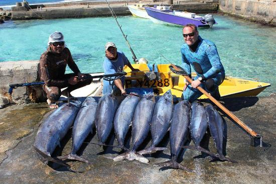Fakarava, French Polynesia: TBS and client