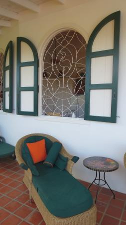 Top O' Tobago Villa & Cabanas: Relaxing area