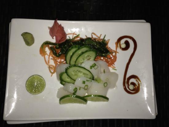 Miro: Scallop sashimi
