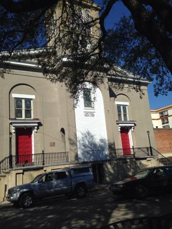 First African Baptist Church: Outside of the church