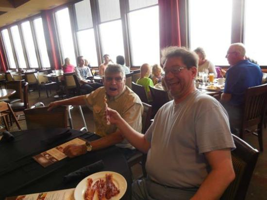 Regatta Grille: My brother enjoyed the bacon.  So did my Uncle who is a local Storm Lake icon/citizen/great guy.