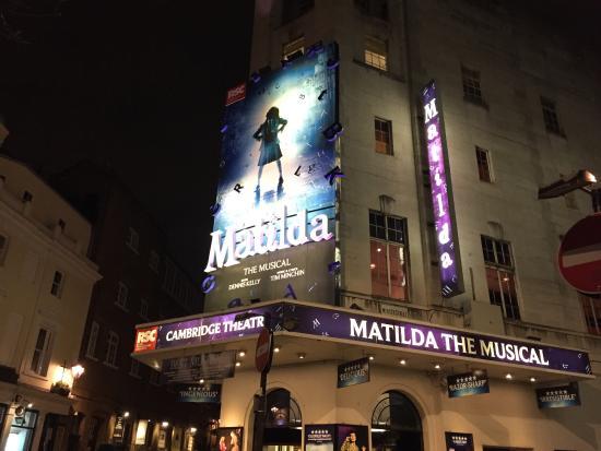 Hotels Near Matilda The Musical