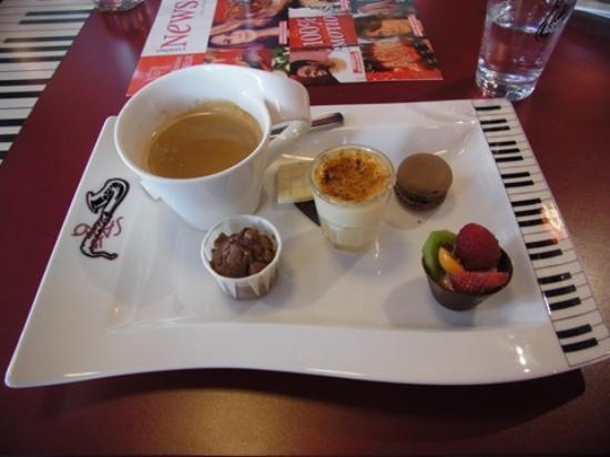 Restaurant Le Saxo : お皿