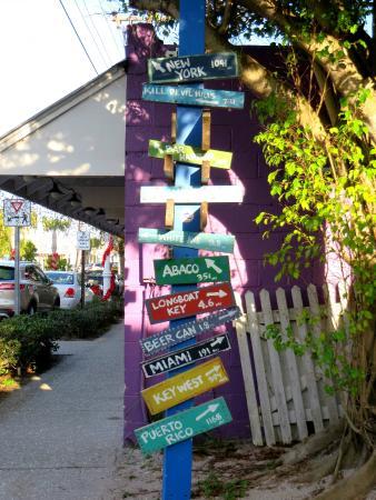 BridgeWalk a Landmark Resort: across the street
