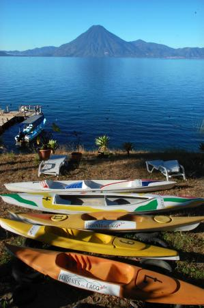Jardines del Lago: Kayaks