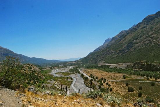 Rancagua, Chile: Fin del sendero carrazal
