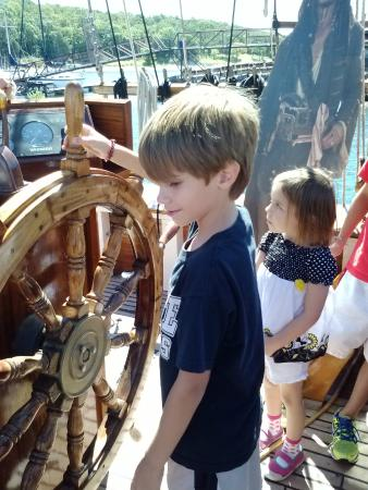 Compass Rose Brigantine Ship