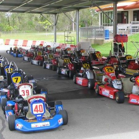 Mareeba, Australia: Large fleet of go karts for kids to adults