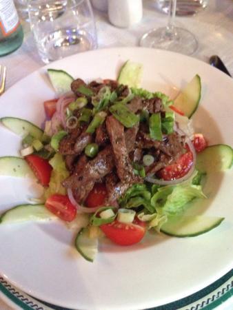 Giovanni's: Thai beef salad