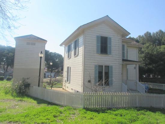 The Overfelt House, Overfelt Gardens, San Jose, Ca