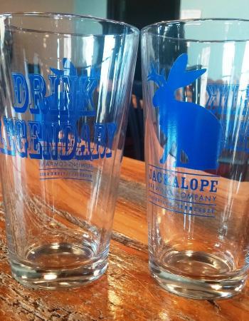 Jackalope Brewing Company: Tour glasses - you keep them!