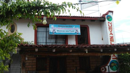 New Huachinango internacional cuisine