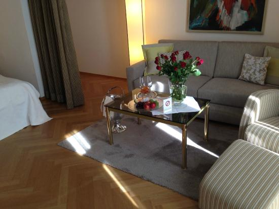 Hotel Villa Hugel : Suite Space