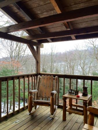 Buckeye Cabins: Great view!