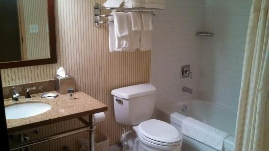 DoubleTree by Hilton Cincinnati Airport Hotel: Great Bathrooms!