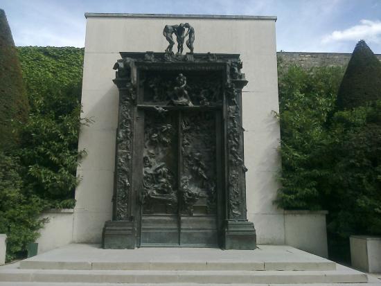 Las puertas del infierno picture of musee rodin paris for 9 puertas del infierno