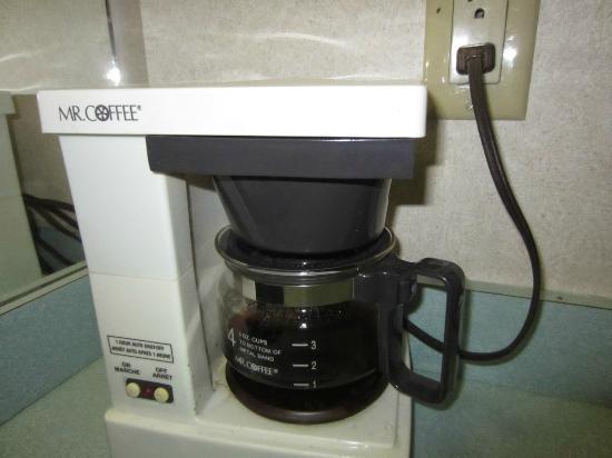 Town Centre Hotel: Coffee machine