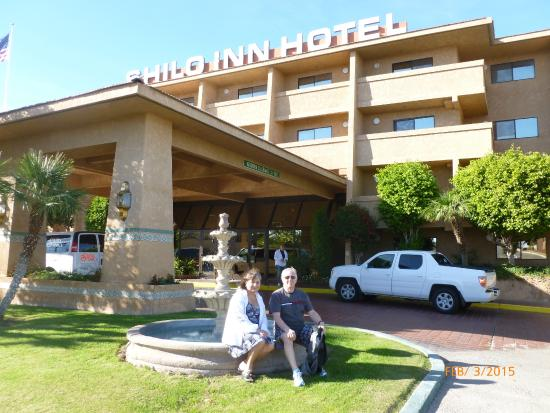 Shilo Inn & Suites - Yuma: Front of Hotel on a windy day