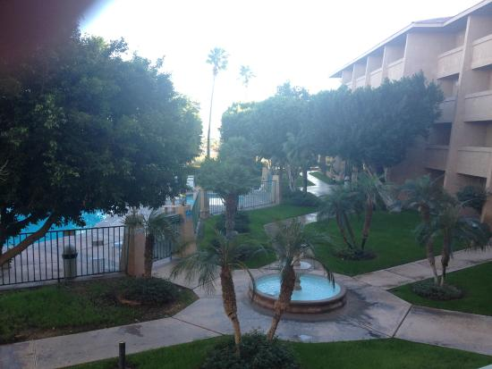 Shilo Inn & Suites - Yuma: Pool are taken from our 2nd floor room