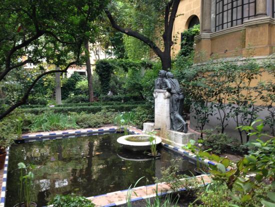 Jard n exterior foto van sorolla museum madrid - Jardines con encanto ...