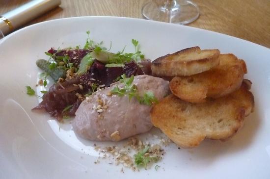 St Isidore: chicken Liver Parfait