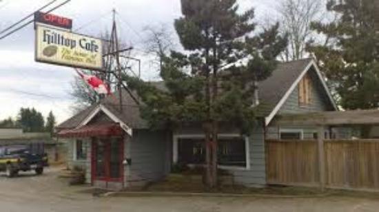 Hilltop Diner Cafe: Worn out Hilltop Cafe