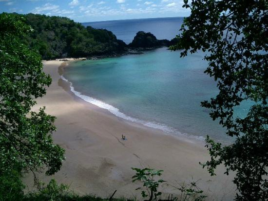 Baia do Sancho: view