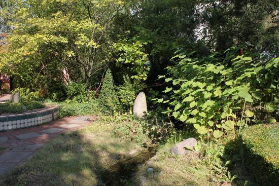 Hotel Grenzfall: Garten