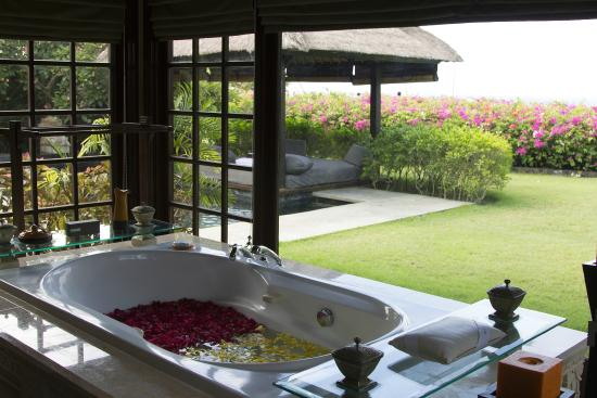 Ocean View Cliff Pool Villa Bathroom Picture Of The