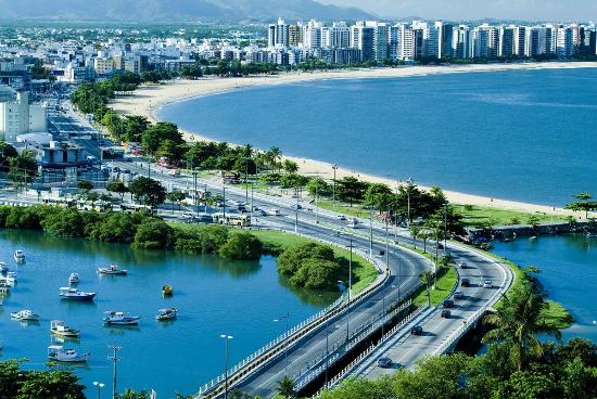 Camburi Beach: Vista da praia de camburi-Vitoria-ES (foto internet)
