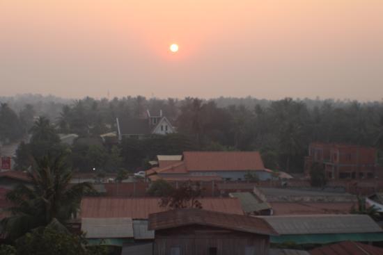 Khemara Battambang Hotel: Sunrise