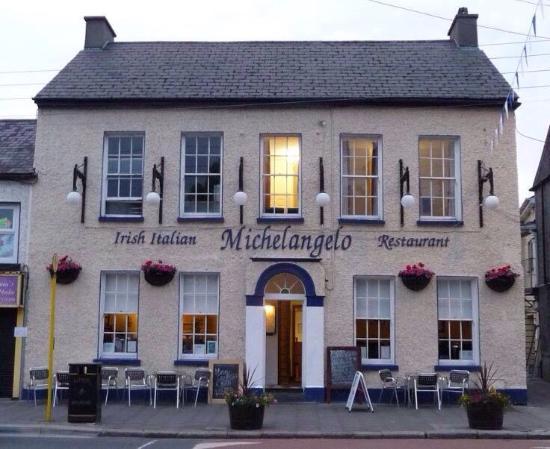 Michelangelo's: Michelangelo restaurant Main Street Celbridge located outside the gates of Castletown house and