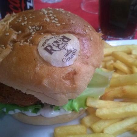 Rock'N'Roll : Falafel Burger Menu