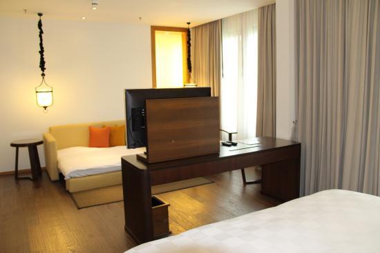 Tanjung Rhu Resort: Спальная комната.