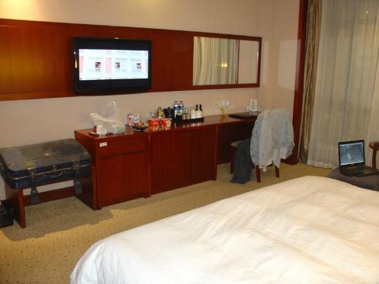 Cosmic Guang Dong International Hotel: Zimmeransicht
