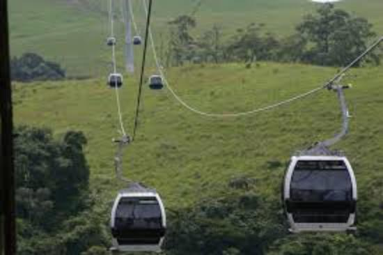 Obudu Mountain Resort: Cable Cars