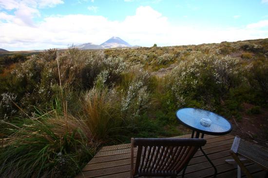 Skotel Alpine Resort: la vue de la chambre terrasse