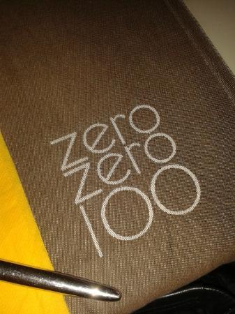 zerozero100: menu