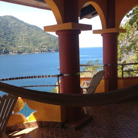 Casa Bahia Bonita : my terrace view