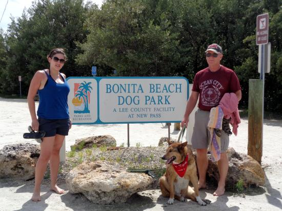 Entrance To Dog Beach