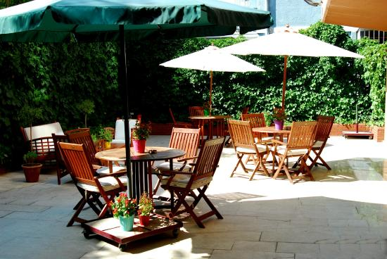 Class Hotel: Bahçe
