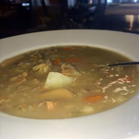 Pancer's Deli Emporium: Beef & Mushroom Barley Soup