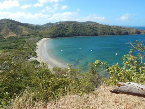 Dreams Las Mareas Costa Rica Beach From Hill Top