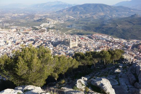 View from La Cruz, Jaén